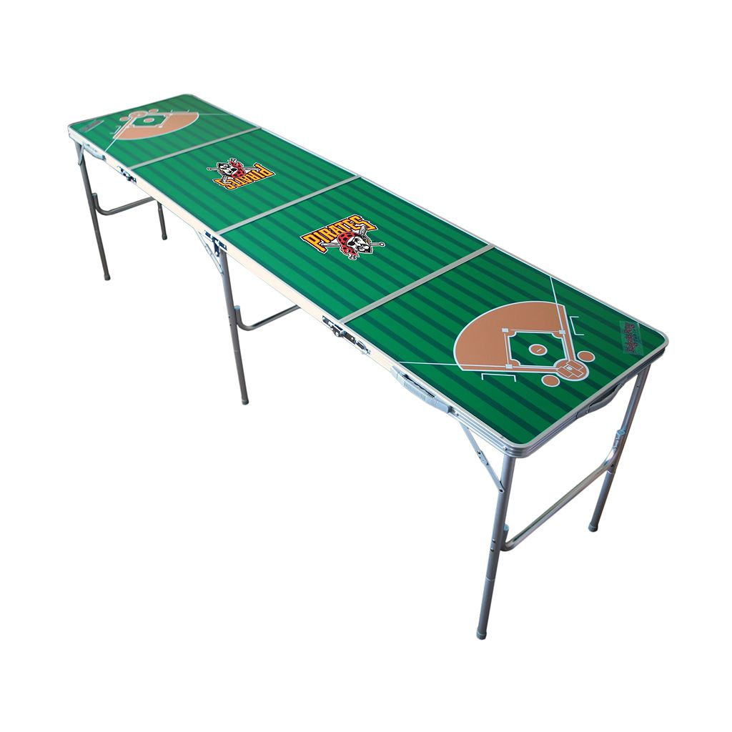 Pittsburgh Pirates 2' x 8' Tailgate Table