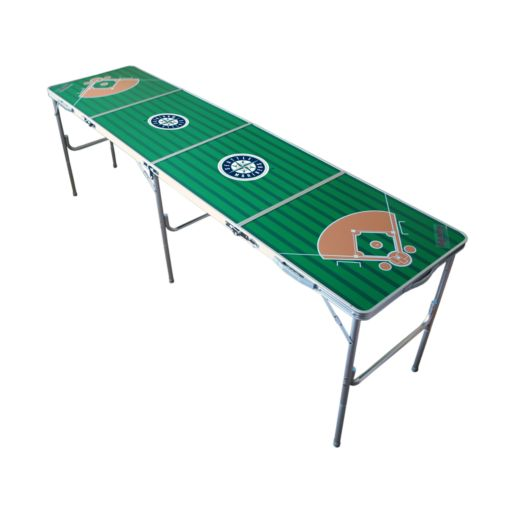 Seattle Mariners 2' x 8' Tailgate Table
