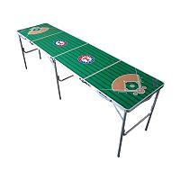 Texas Rangers 2' x 8' Tailgate Table
