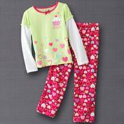 Jumping Beans Cupcake Pajama Set