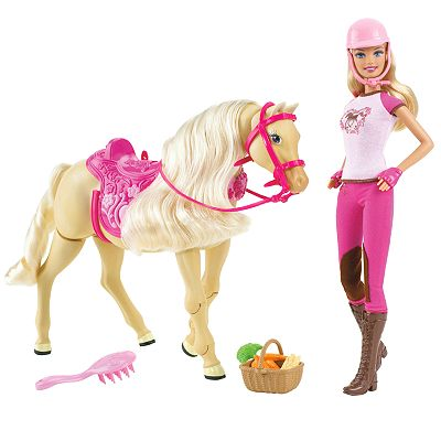 Barbie Tawny Walking Horse and Doll Gift Set by Mattel