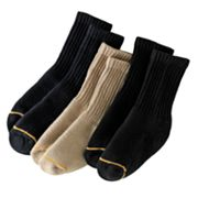 GOLDTOE 3-pk. Crew Socks