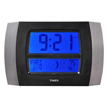 Timex Wireless Weather & Atomic Digital Wall Clock
