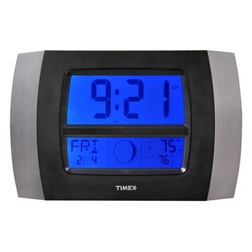 Timex Wireless Weather and Atomic Digital Wall Clock