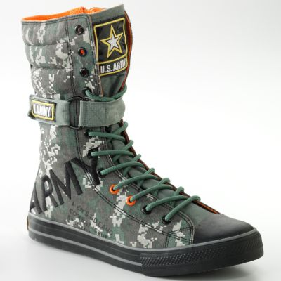 Women Combat Boots Fashion on Army Combat Sneaker Boots