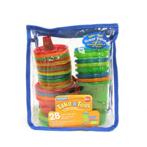 The First Years Take and Toss 28-Piece Travel Set