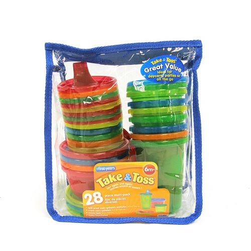 The First Years Take & Toss 28-pc. Travel Set