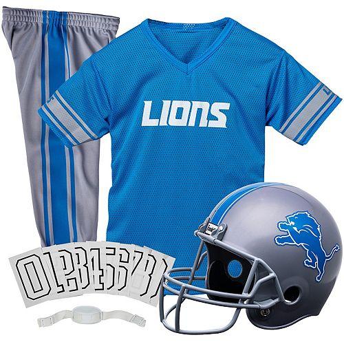 Franklin Detroit Lions Football Uniform