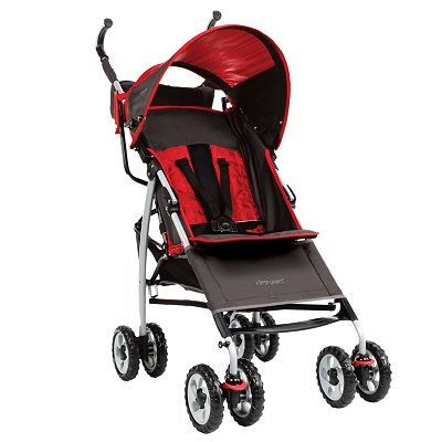 The First Years Ignite Red Stripe Stroller