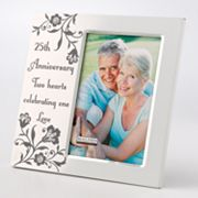 Malden 4 x 6 25th Anniversary Frame
