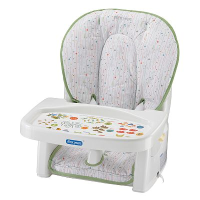 The First Years Infant-to-Toddler Reclining Feeding Seat - Bionic Burst