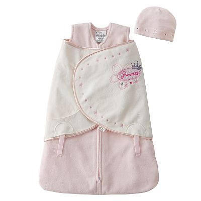 HALO Princess Microfleece SleepSack Swaddle Set