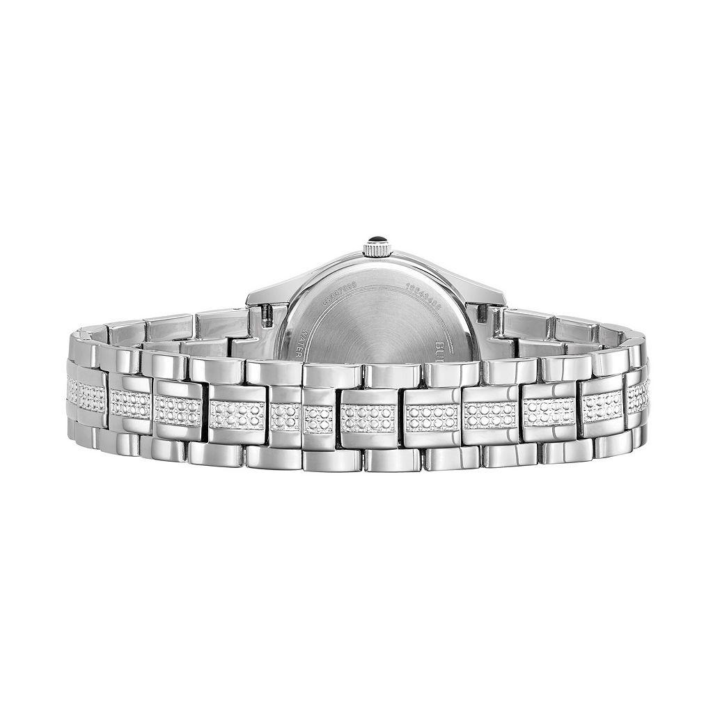Bulova Women's Crystal Stainless Steel Watch - 96L116