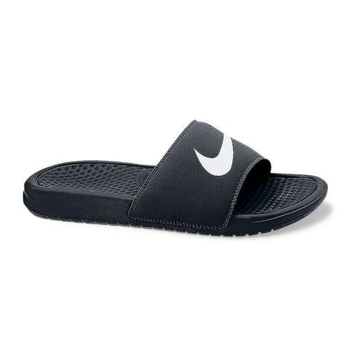 Nike Benassi Swoosh Slide Sandals - Men