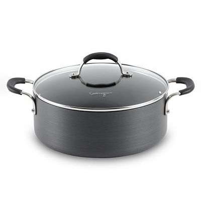 Cooking with Calphalon 5-qt. Hard-Anodized Covered Chili Pot