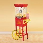 Old Fashioned Popcorn Cart