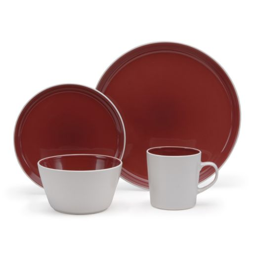 Oneida Colorburst 16-pc. Dinnerware Set
