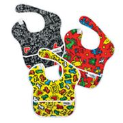 Bumkins Keith Haring 3-pk. SuperBibs