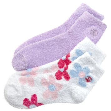 Earth Therapeutics® 2-pk. Dip-Dyed & Solid Aloe Socks