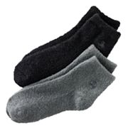 Earth Therapeutics 2-pk. Solid Aloe Socks
