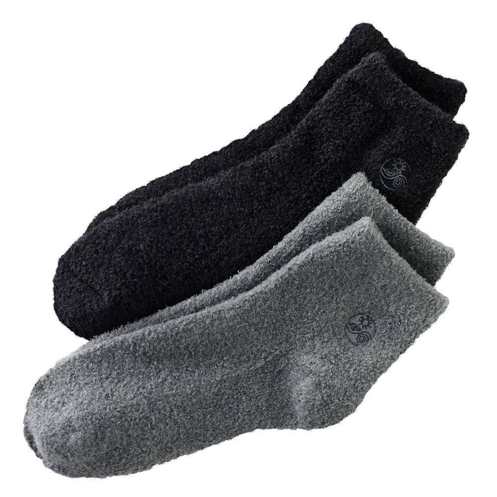 Earth Therapeutics 2-pk. Solid Aloe Socks