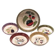 Certified International Sienna 5-pc. Pasta Bowl Set
