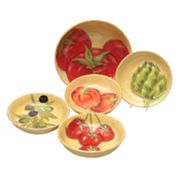 Certified International Roma 5-pc. Pasta Bowl Set