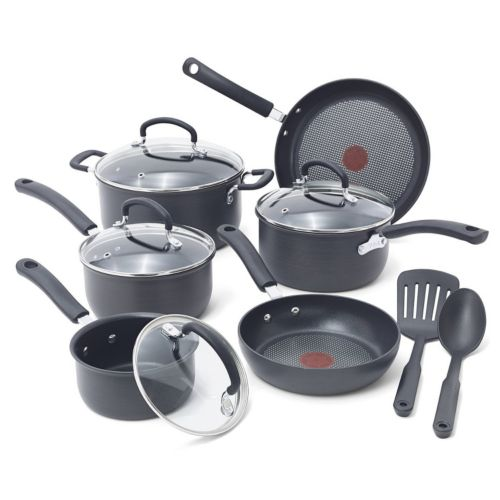 T-Fal Ultimate 12-pc. Nonstick Hard-Anodized Cookware Set