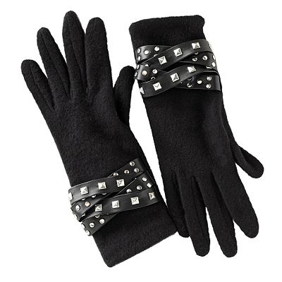 Apt. 9 Studded Gloves