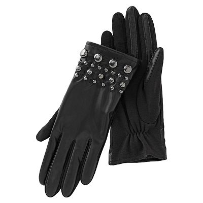 Apt. 9 Studded Stretch Gloves
