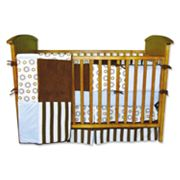 Trend Lab 4-pc. Circle and Striped Crib Bedding Set