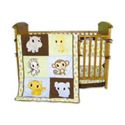 Trend Lab 4-pc. Chibi Zoo Crib Bedding Set