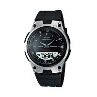 Casio Men's Forester Illuminator Analog & Digital Databank Chronograph Watch - AW80-1AV