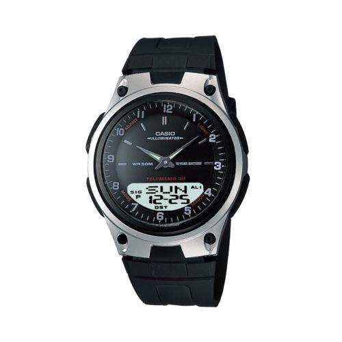 Casio Forester Illuminator Databank Analog and Digital Chronograph Watch - Men