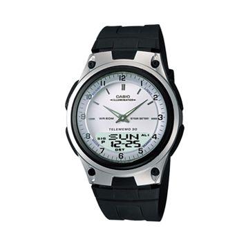 Casio Men's Forester Illuminator Analog & Digital Databank Chronograph Watch - AW80-7AV