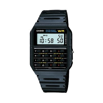 Casio Calculator and Chronograph Digital Watch - Men
