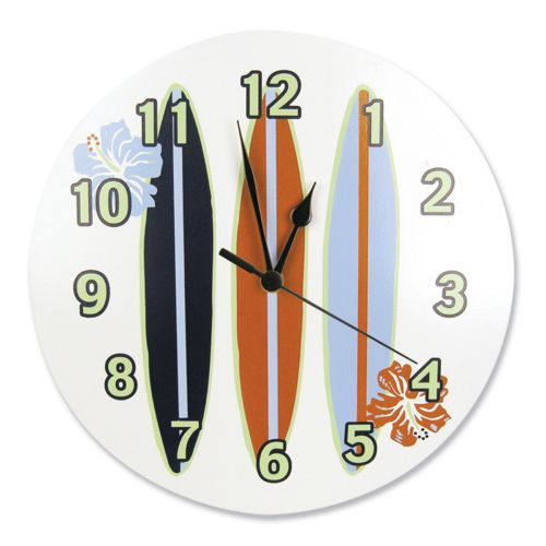Trend Lab Surf's Up Wall Clock