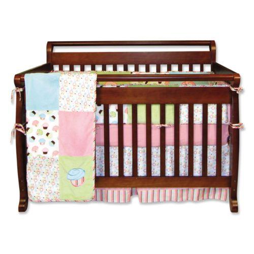 Trend Lab 4-pc. Cupcake Crib Bedding Set