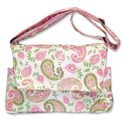 Trend Lab Paisley Messenger Diaper Bag