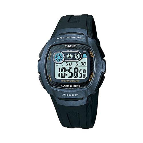 Casio Men's Illuminator Digital Chronograph Watch - W210-1BV