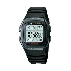 Casio Men's Illuminator Sport Digital Chronograph Watch - W96H-1BV