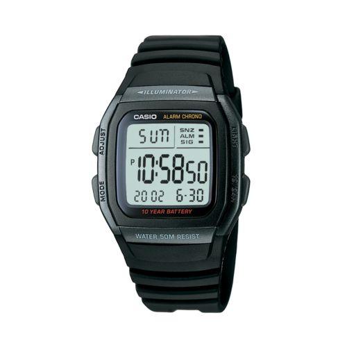 Casio Watch - Men's Illuminator Black Resin Digital Chronograph Sport