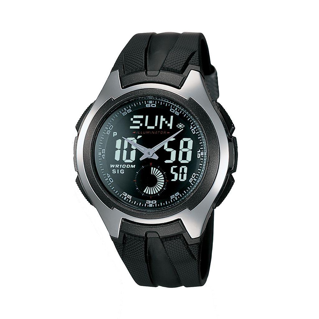 Casio Men's Analog & Digital Chronograph Sport Watch - AQ160W-1BV