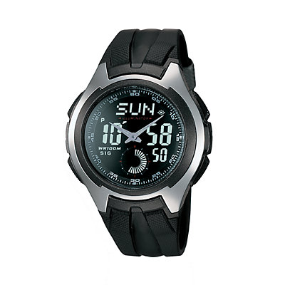Casio Men's Analog & Digital Chronograph Sport Watch - AQ160W-1BV
