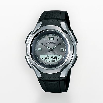Casio Illuminator Tough Solar Chronograph Analog and Digital Sports Watch - Men