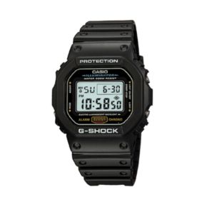 Casio Men's G-Shock Illuminator Chronograph Digital Sports Watch - DW5600E-1V
