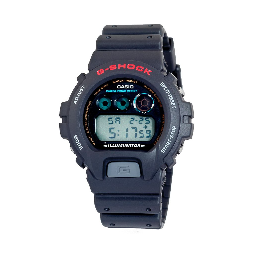 Casio Men's G-Shock Classic Digital Chronograph Watch - DW6900-1V