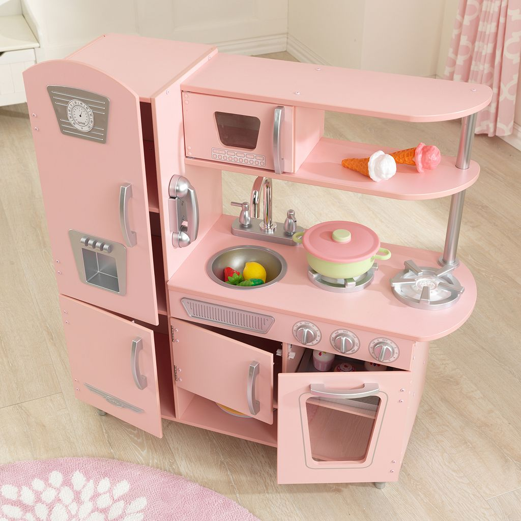 KidKraft Pink Retro Kitchen