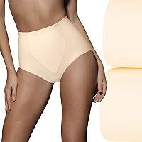 Bali 2-pack Light Control Tummy Panel Shaping Briefs X70J