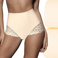 Bali 2-pk. Firm Control Lace Briefs X054 - Women's